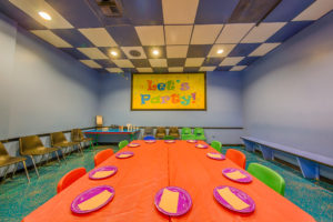 kids party room